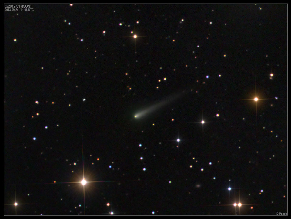 El cometa Ison se acerca