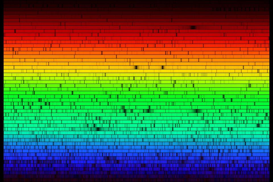 Todos los colores de nuestro Sol
